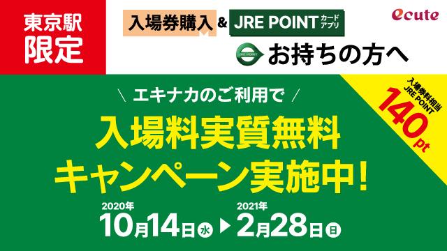 東京駅キャッシュバックキャンペーン